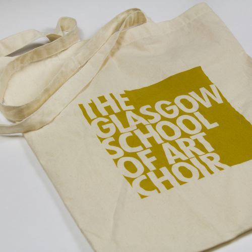 GSA Choir canvas tote bag