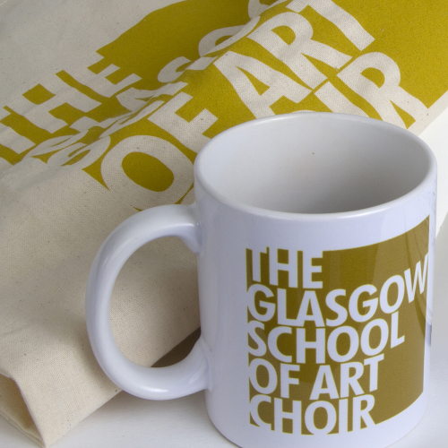 GSA Choir souvenir mug and canvas tote bag