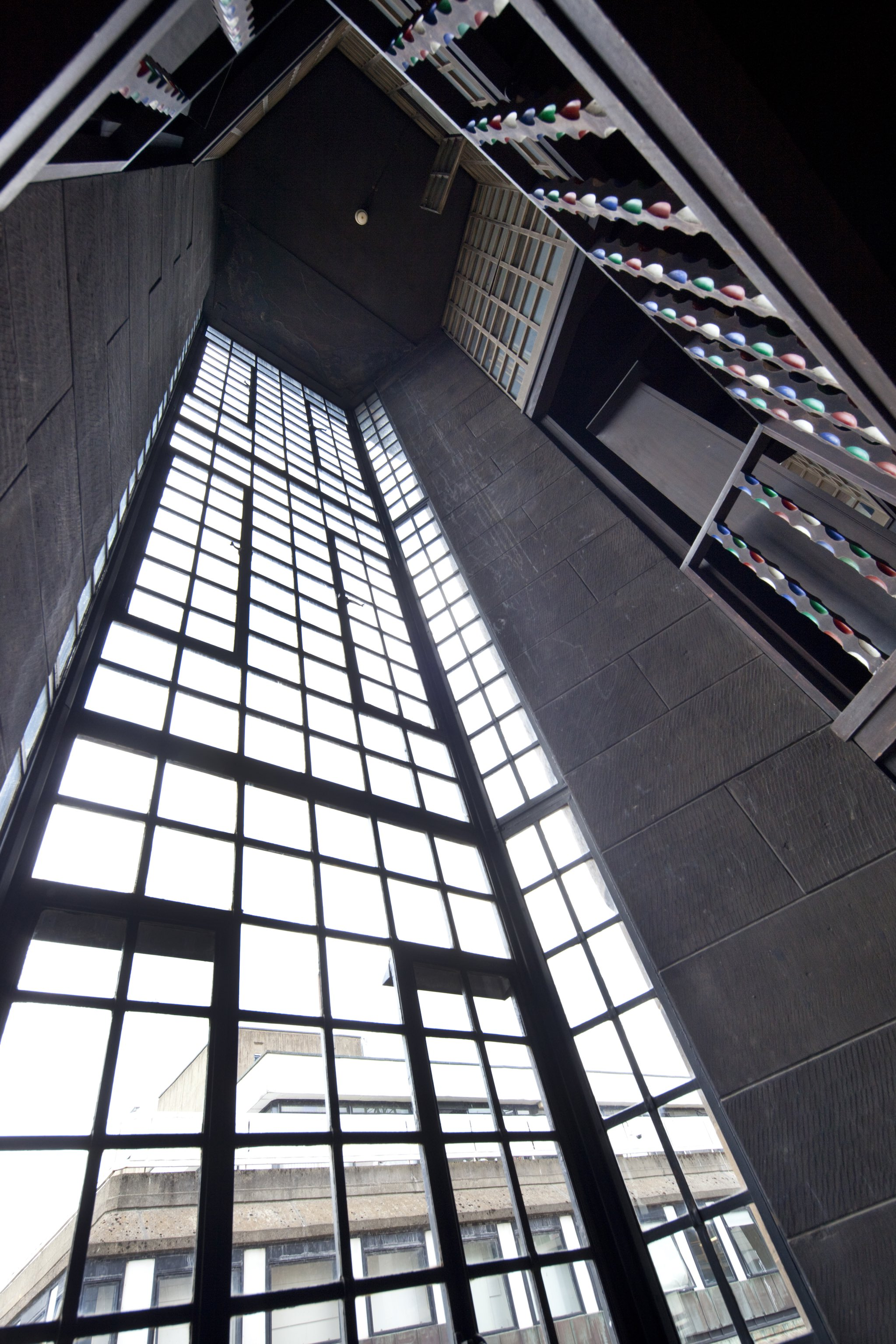 Mackintosh Library windows, Alan McAteer