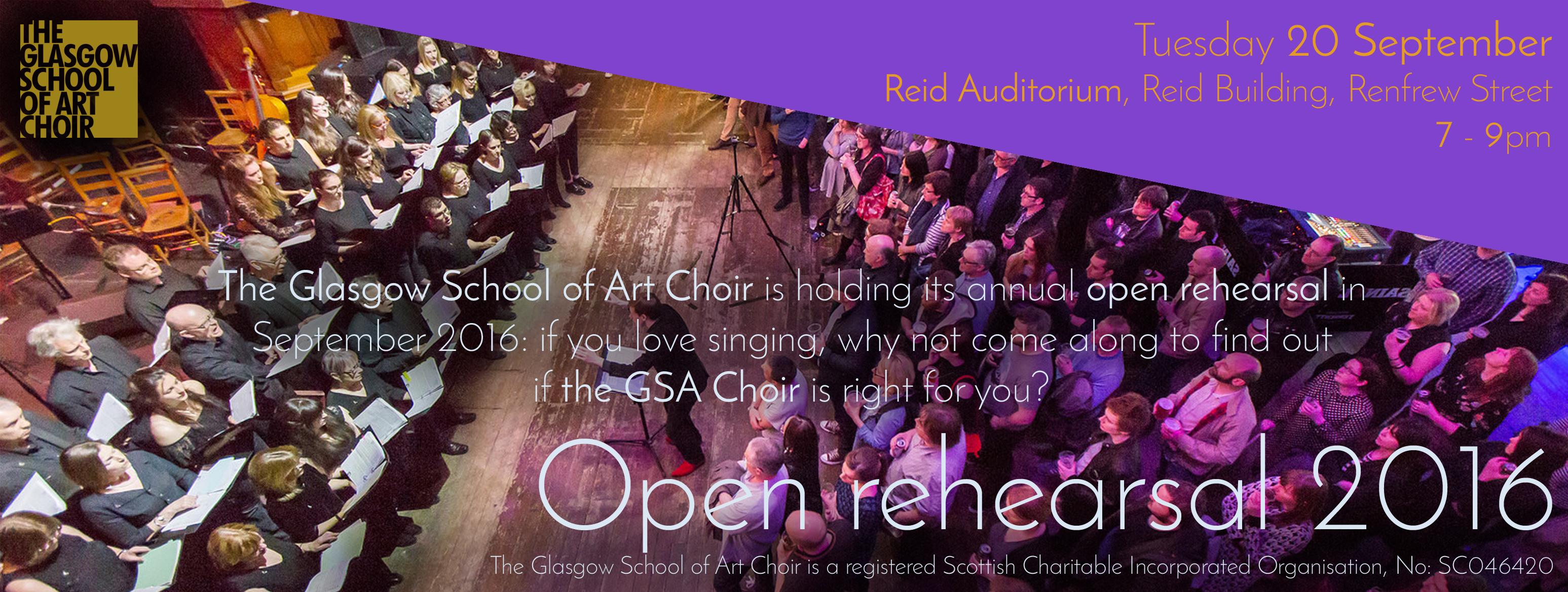 Open rehearsal 2016